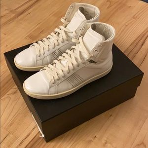 Saint Laurent SL/01 High Top Sneaker